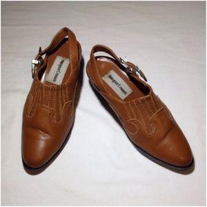 Women's Size 5 Newsport News Western Mule Shoes
